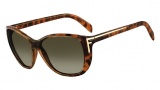 Fendi FS 5219 Sunglasses Sunglasses - 725 Blonde Havana