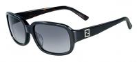 Fendi FS 5233R Sunglasses Sunglasses - 001 Black