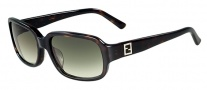 Fendi FS 5233R Sunglasses Sunglasses - 214 Havana