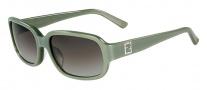 Fendi FS 5233R Sunglasses Sunglasses - 317 Pearl Musk Green