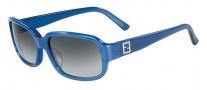 Fendi FS 5233R Sunglasses Sunglasses - 428 Demi Blue