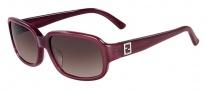 Fendi FS 5233R Sunglasses Sunglasses - 630 Sangria