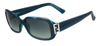 Fendi FS 5235 Sunglasses Sunglasses - 425 Petroleum Blue