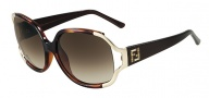 Fendi FS 5266R Sunglasses Sunglasses - 238 Brown