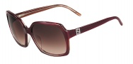 Fendi FS5267R Sunglasses Sunglasses - 604 Burgundy