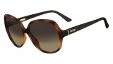 Fendi FS 5274 Sunglasses Sunglasses - 215 Light Havana