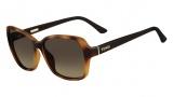Fendi FS 5275 Sunglasses Sunglasses - 215 Light Havana