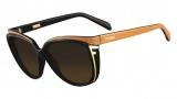 Fendi FS 5283 Sunglasses Sunglasses - 002 Black / Brown