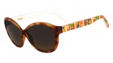 Fendi FS 5286 Sunglasses Sunglasses - 725 Light Havana