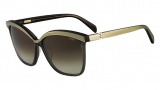 Fendi FS 5287 Sunglasses Sunglasses - 036 Dark Grey / Grey
