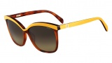 Fendi FS 5287 Sunglasses Sunglasses - 214 Light Havana / Yellow