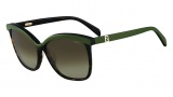 Fendi FS 5287 Sunglasses Sunglasses - 215 Havana / Green