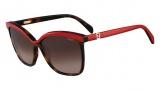 Fendi FS 5287 Sunglasses Sunglasses - 216 Vintage Havana / Red