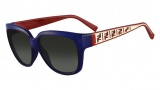 Fendi FS 5292 Sunglasses Sunglasses - 424 Blue / Red