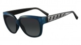 Fendi FS 5292 Sunglasses Sunglasses - 466 Petroleum Blue / Black