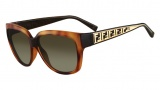 Fendi FS 5292 Sunglasses Sunglasses - 725 Light Havana