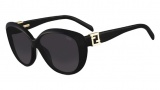 Fendi FS 5297R Sunglasses Sunglasses - 001 Shiny Black