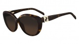 Fendi FS 5297R Sunglasses Sunglasses - 215 Havana