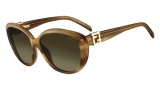 Fendi FS 5297R Sunglasses Sunglasses - 234 Light Brown