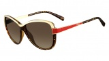 Fendi FS 5331 Sunglasses Sunglasses - 239 Vintage Havana / Red