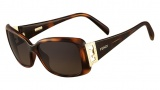 Fendi FS 5338R Sunglasses Sunglasses - 238 Havana