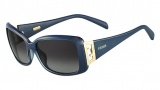 Fendi FS 5338R Sunglasses Sunglasses - 449 Petroleum Blue