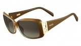Fendi FS 5338R Sunglasses Sunglasses - 902 Brown