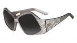 Fendi FS 5341 Sunglasses Sunglasses - 035 Grey / Crystal