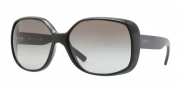 DKNY DY4101 Sunglasses Sunglasses - 300111 Black / Grey Gradient