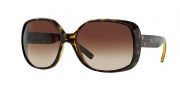 DKNY DY4101 Sunglasses Sunglasses - 301613 Dark Havana / Brown Gradient
