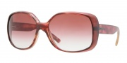 DKNY DY4101 Sunglasses Sunglasses - 35408D Raspberry  / Pink Gradient