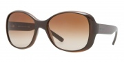 DKNY DY4102 Sunglasses Sunglasses - 358813 Brown / Brown Gradient