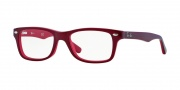 Ray-Ban Junior RY1531 Eyeglasses Eyeglasses - 3592 Top Red On Opal Red