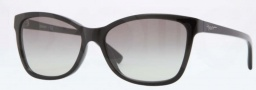 DKNY DY4105 Sunglasses Sunglasses - 300111 Black / Grey Gradient