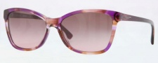 DKNY DY4105 Sunglasses Sunglasses - 359314 Spotted Pink / Brown Gradient Pink