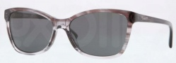 DKNY DY4105 Sunglasses Sunglasses - 359287 Spotted Gray / Grey