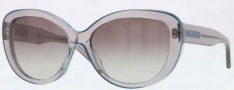 DKNY DY4107 Sunglasses Sunglasses - 345711 Gray / Grey Gradient