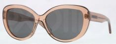 DKNY DY4107 Sunglasses Sunglasses - 360687 Brown / Grey