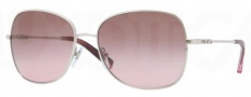 DKNY DY5073 Sunglasses Sunglasses - 100214 Silver / Brown Gradient Pink