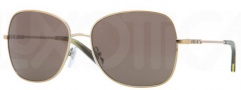DKNY DY5073 Sunglasses Sunglasses - 118973 Pale Gold / Brown