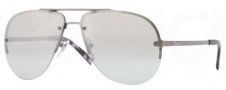 DKNY DY5074 Sunglasses Sunglasses - 10146V Matte Gunmetal / Grey Mirror Silver Gradient