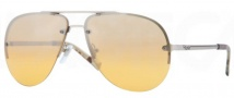 DKNY DY5074 Sunglasses Sunglasses - 10297F Matte Silver / Yellow Mirror Silver Gradient
