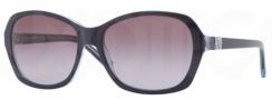 DKNY DY4094 Sunglasses Sunglasses - 35728H Top Blue on Blue Transparent / Violet Gradient