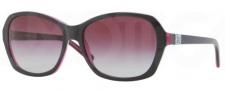 DKNY DY4094 Sunglasses Sunglasses - 35734Q Top Black on Violet Transparent / Violet Gradient