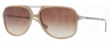 DKNY DY4099 Sunglasses Sunglasses - 352113 Beige Gray / Gradient Brown