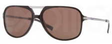 DKNY DY4099 Sunglasses Sunglasses - 358573 Top Brown Horn / Brown