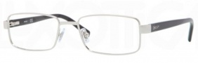 DKNY DY5638 Eyeglasses Eyeglasses - 1002 Silver / Demo Lens