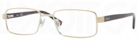 DKNY DY5638 Eyeglasses Eyeglasses - 1189 Pale Gold / Demo Lens