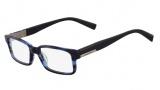 Nautica N8075 Eyeglasses Eyeglasses - 470 Navy Horn