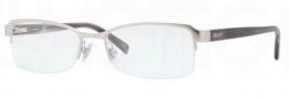 DKNY DY5639 Eyeglasses Eyeglasses - 1029 Matte Silver / Demo Lens